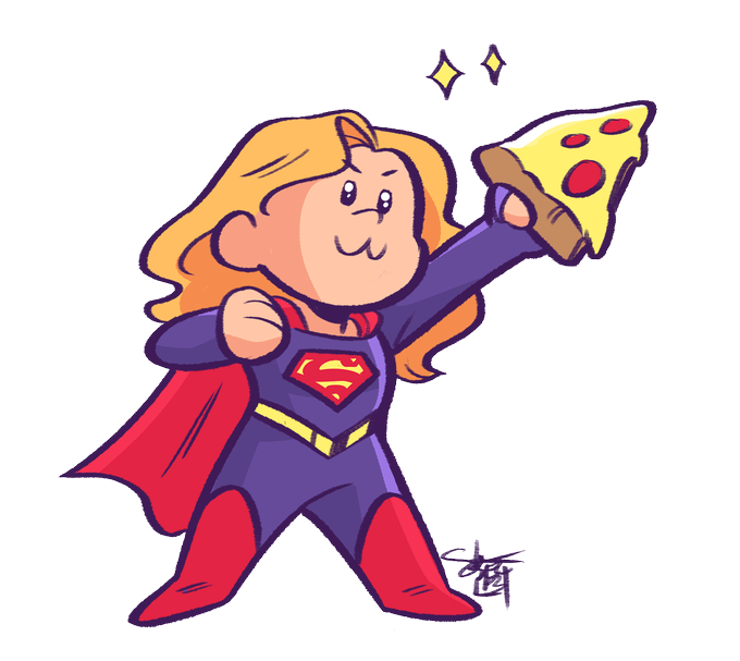 Supergirl Pizza Flight.png