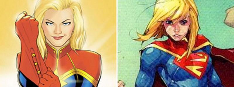 Kara/Carol Danvers Uh Oh