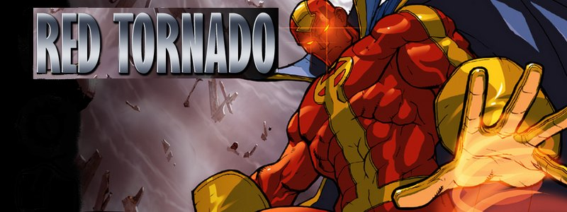 New Clues: Red Tornado's Look