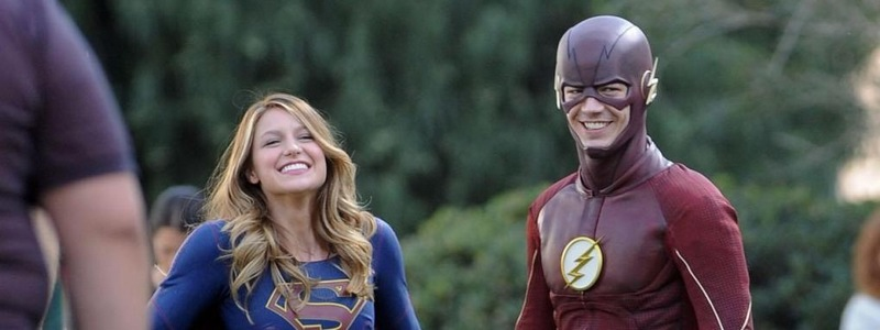 Supergirl & Flash on Conan
