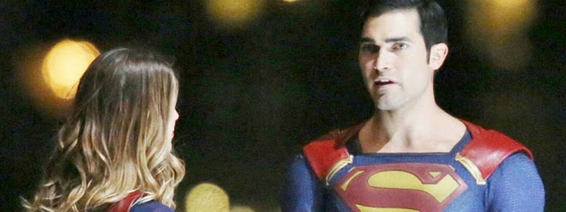 Supergirl & Superman BTS
