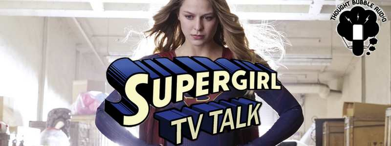 Larry Teng on Supergirl TV Talk