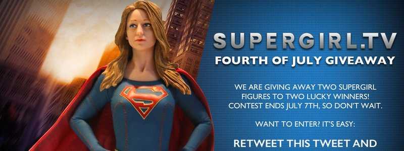 Supergirl.tv Fourth of July Giveaway