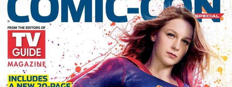 Supergirl on TVGuide Cover 2017