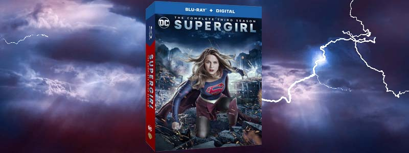 Supergirl Season 3 DVD/Blu-Ray Out Today