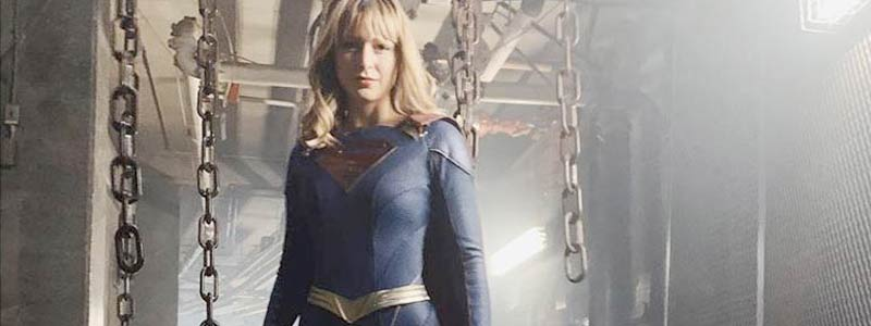 First Look at New Supergirl Suit