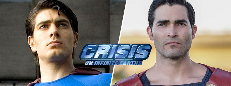 Hoechlin & Routh to be Superman in COIE